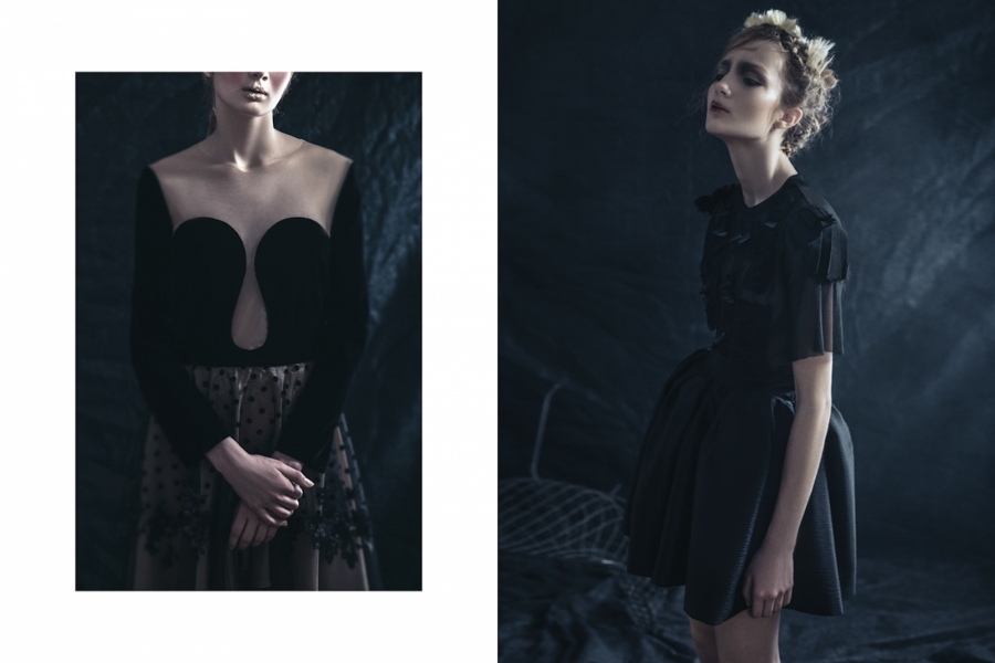 5 minutes of darkness for MODNA MAGAZINE
